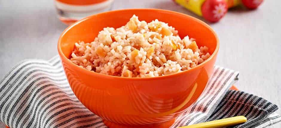 Baked fish with rice and tomato recipe me and my child for Baked fish and rice