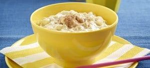 Banana Rice Pudding