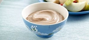 Hazelnut Yoghurt Fruit Dip