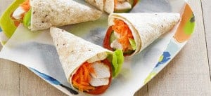 Mini Chicken Salad Wraps