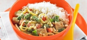 Pork and Vegetable Curry