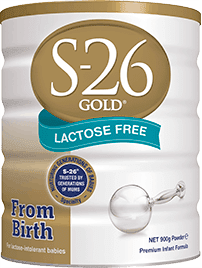 S-26 GOLD<sup>®</sup> LACTOSE FREE