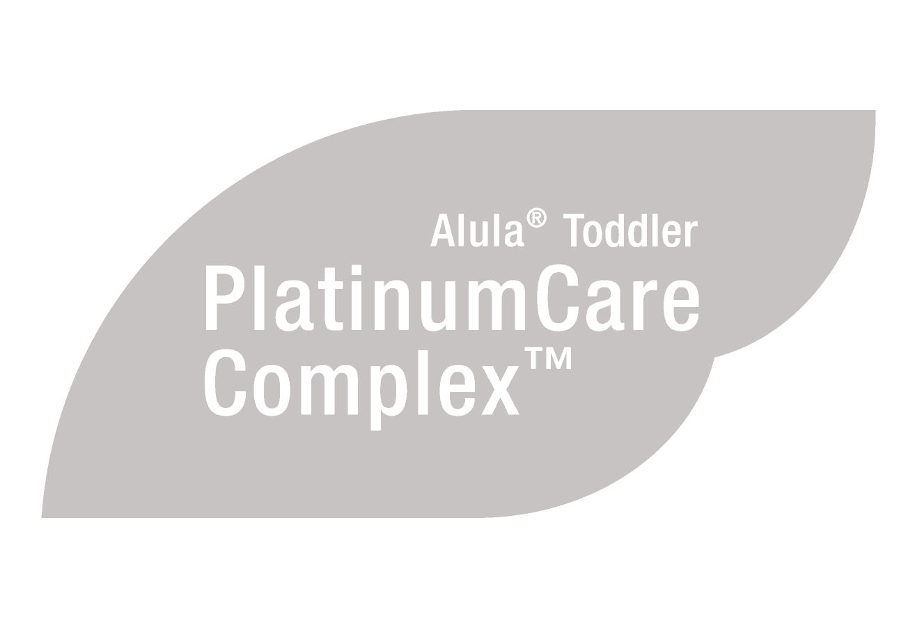 Alula® Toddler PlatinumCare Complex™ text icon
