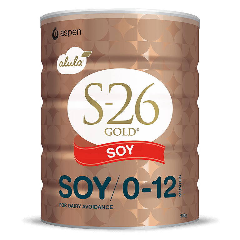 A can of S-26 Gold Soy Milk Drink in 900g